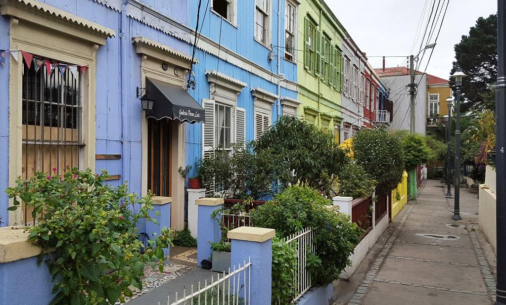 Valparaiso Colorful Houses